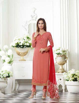 Ladies Georgette Semi Stitched Salwar Suit 05