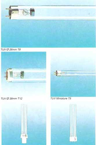 Electrical Lighting Lamps Ultra Violet Tubes Coloured Tube