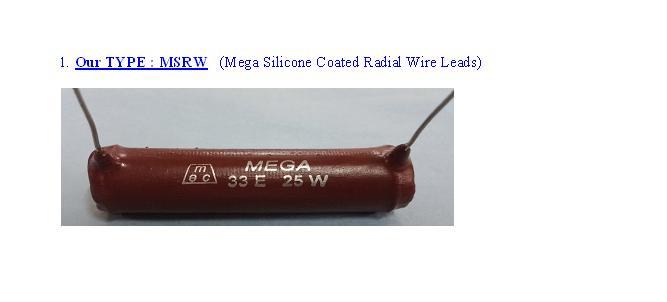 Radial Resistors