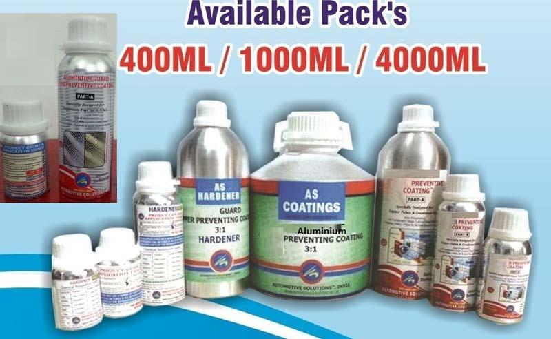 Aluminium Preventive Coatings