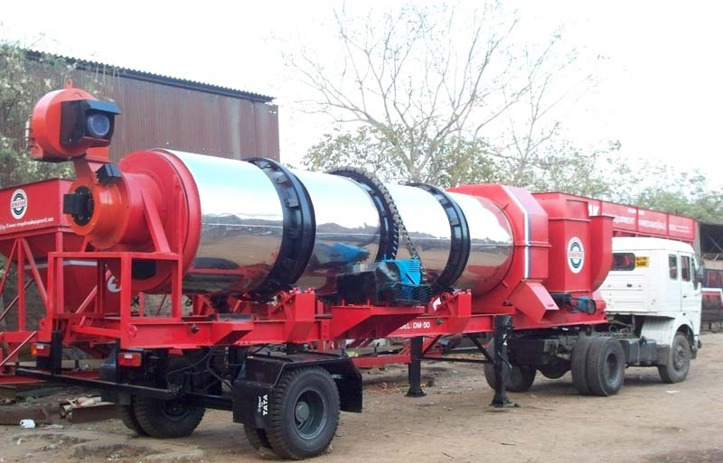 Mini Asphalt Drum Mix Plant - 60 TPH