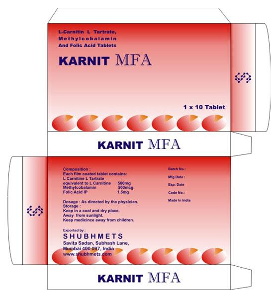Karnit Mfa Tablets 2