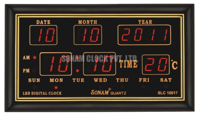 Led wall clock led digital wall clock led display wall Digital led wall clock