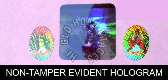 Non Tamper Evident Hologram Manufacturer and Supplier