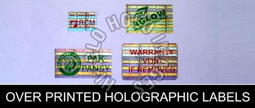 Printed Hologram Manufacturer