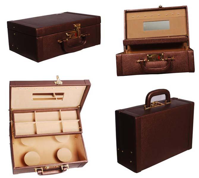 Leather Jewellry Box