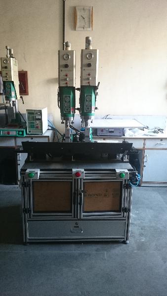 Multihead Ultrasonic Plastic Welding Machine