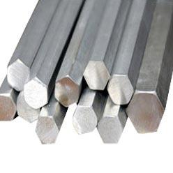 Bright Steel Hex Bars