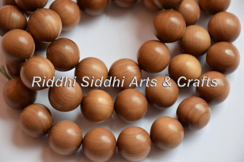 Crafted Sandalwood Mala Beads