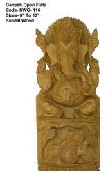 Sandalwood Ganesha Statue