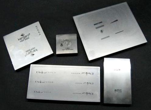 Cliche Plates