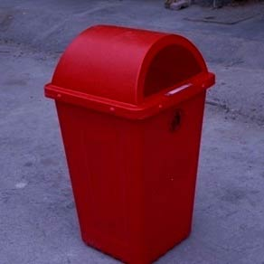 Outdoor Plastic Dustbin