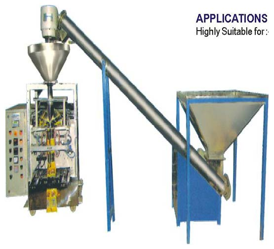 Pneumatic Collar Type Auger Filler Machine SA-050 A