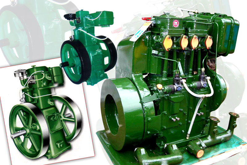 Diesel powered water pumps