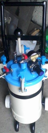 Stainless Steel Pressure Feed Tank