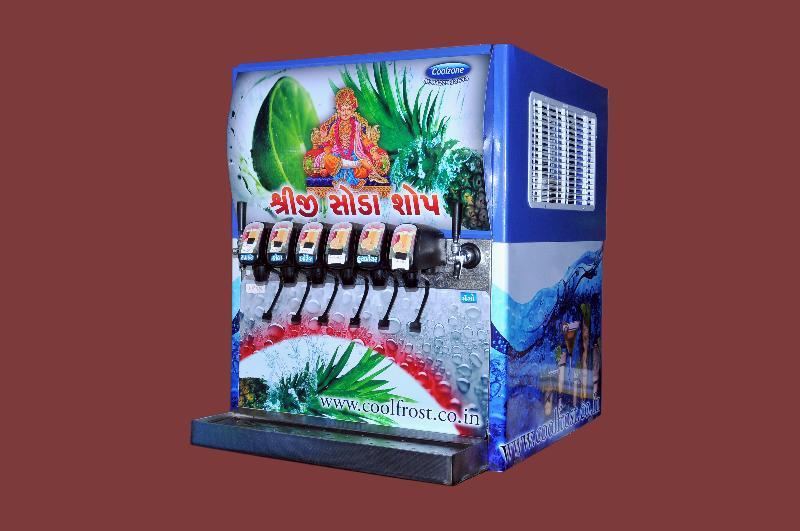 6 Valve Soda Fountain Machine 01