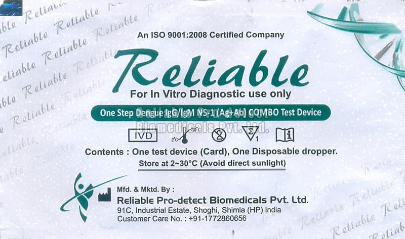 Dengue AB IGG & IGM Testing Kit
