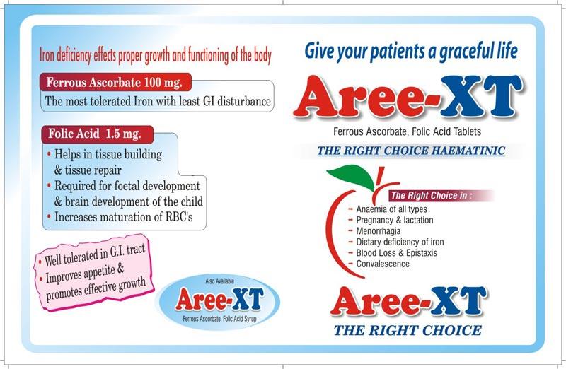 Aree-XT Tablets