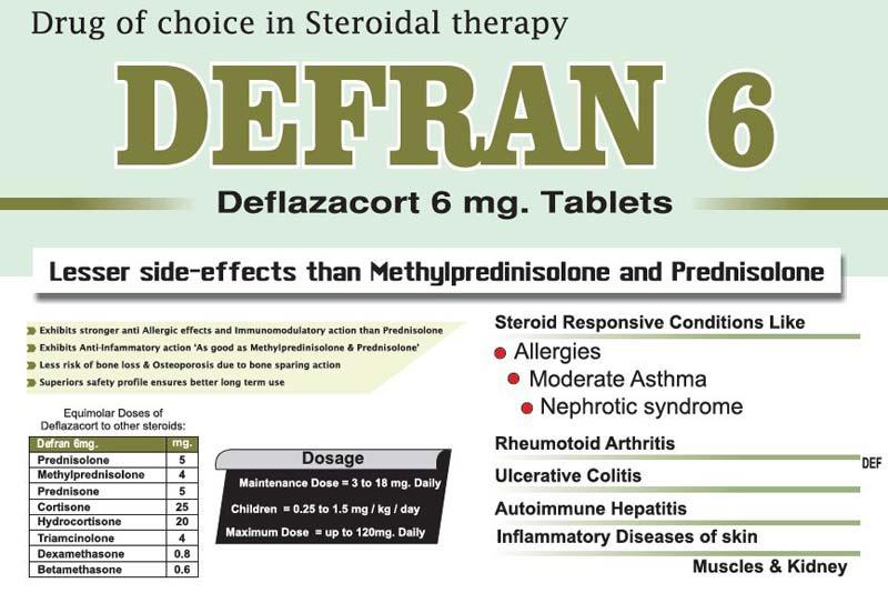 Defran 6mg Tablets
