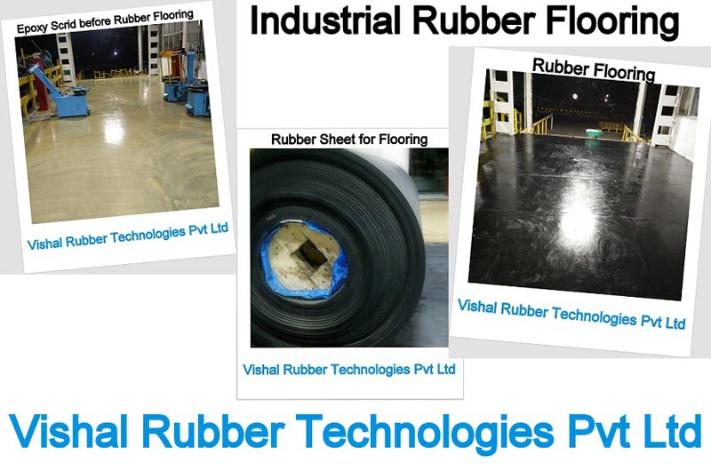 Industrial Rubber Floorings