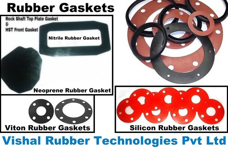 Industrial Rubber Gaskets Ring Type Rubber Gaskets