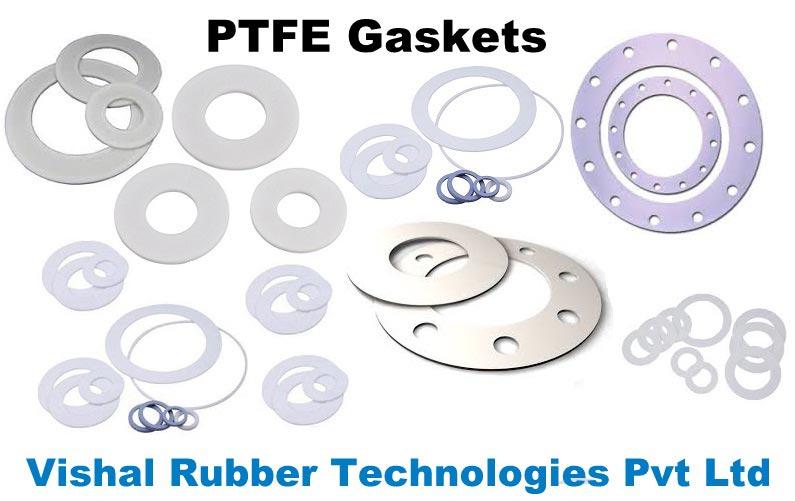 PTFE Gaskets,Virgin PTFE Gaskets,Expanded PTFE Gaskets Exporters