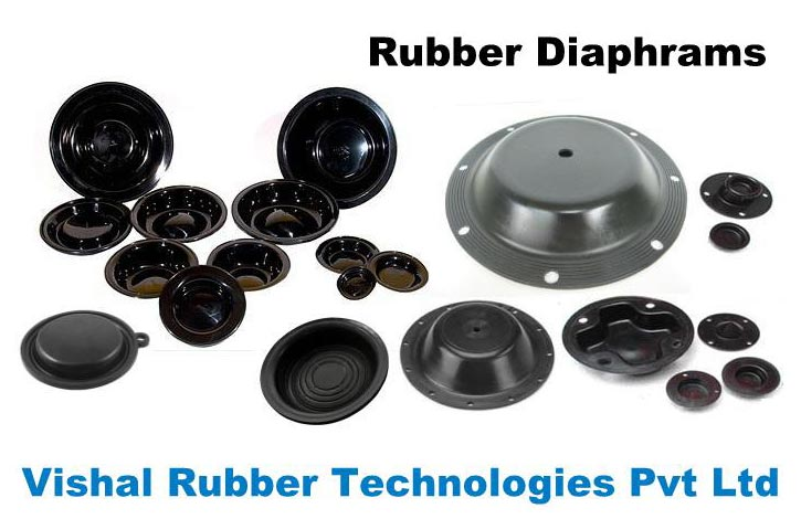 Molded rubber diaphragms manufacturers