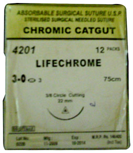 Chromic Catgut Suture
