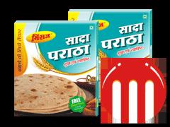 2 Combo Pack Plain Paratha