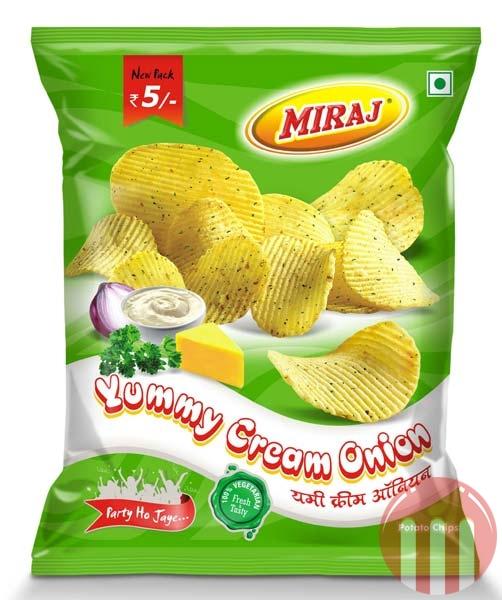 Yummy Cream Onion Wafers