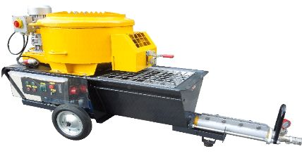 Cement Plastering Machine (BU N6M)