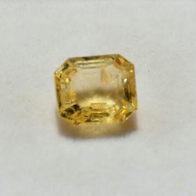 Yellow Sapphire Stone 05