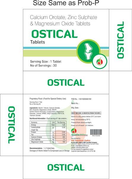 Ostical Tablets