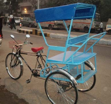 Tricycle Rickshaws