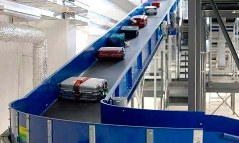 Baggage Handling Conveyor