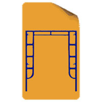 Walkthrough Frame (Straight Support)