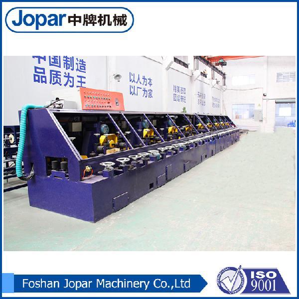32  Wheel Head Stainless Steel Square Pipe Automatic Wax Polishing Machine