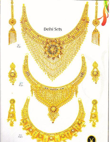 Gold Necklace Set Manufacturer, Exporter and Supplier