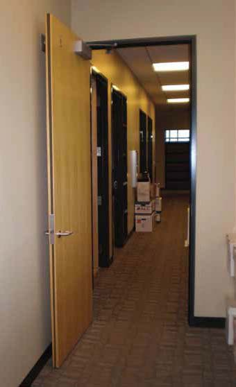 Acoustic Fire Door