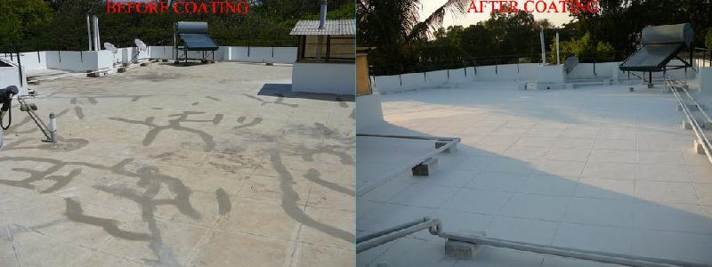 EXCEL FlexiCool - ( Leak Proof + Heat Reflective Roof Coatings)
