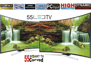 55 Inch Curved LED Television