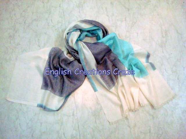 Cotton Jacquard Scarves