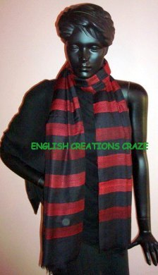 Silk Cashmere Woven Scarves