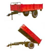 Two Wheeler Tractor Trolley