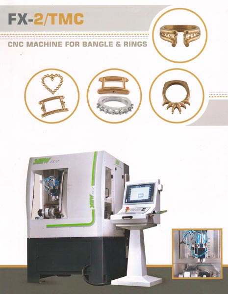 Bangle & Ring Making Machine (FX 2 TMC SPC)