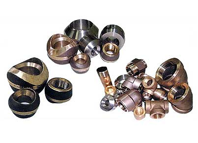 Nickel Alloy Screwed Pipe Fittings