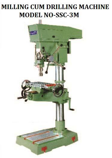 S-3M Milling Cum Drilling Machine