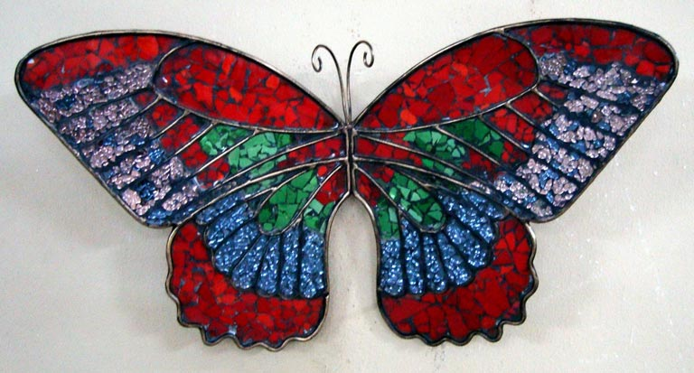 Iron Wall Mounted Butterfly