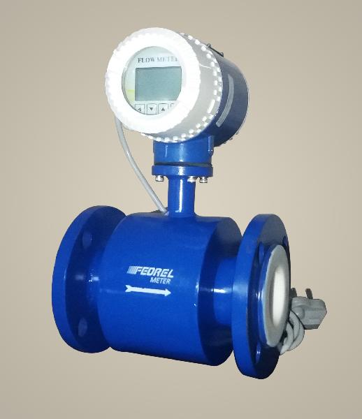 Integral Electromagnetic Flow Meter
