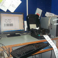Barcode Printed Sticker (01)